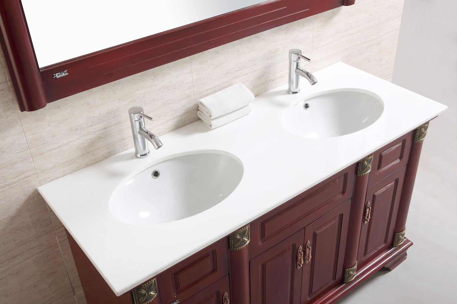 Meuble de salle de bains sanifun rustica 140 ebay - Salle de bains online ...