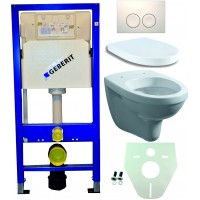 Geberit UP100 toilet suspendu pack 1. 1