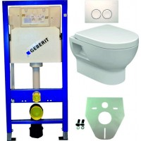 Geberit UP100 toilet suspendu pack 2. 1