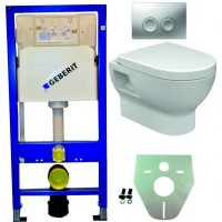 Geberit UP100 toilette suspendu pack 3. 1