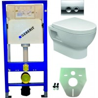 Geberit UP100 WC suspendu pack 4. 1