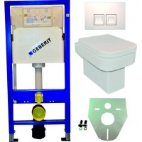 Geberit UP100 toilette suspendu pack 16. 1