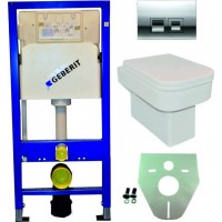 Geberit UP100 toilette suspendu pack 17. 1