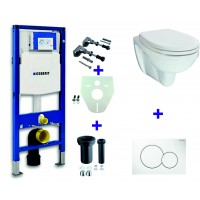 Geberit UP320 toilette suspendu pack 18. 1