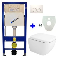 Geberit UP100 toilette suspendu pack 8. 1