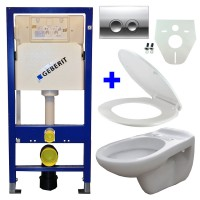 Geberit UP100 toilette suspendu pack 9. 1