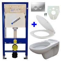 Geberit UP100 toilette suspendu pack 10. 1