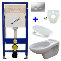 Geberit UP100 toilette suspendu pack 12. 1