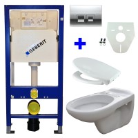 Geberit UP100 toilette suspendu pack 15. 1