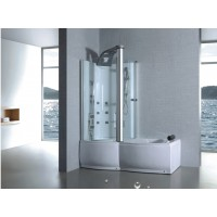 douche bain combination en stock online sanitair. Black Bedroom Furniture Sets. Home Design Ideas