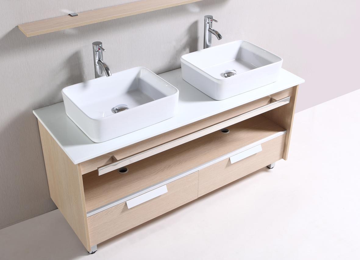 Meuble de salle de bains sanifun fiore 140 ebay - Ebay meuble salle de bain ...