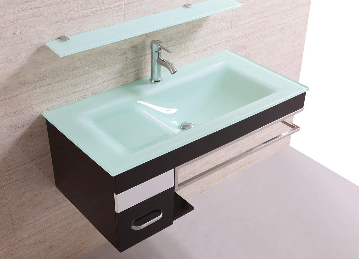 Meuble salle de bain sanifun sandrina 100 ebay - Ebay meuble salle de bain ...