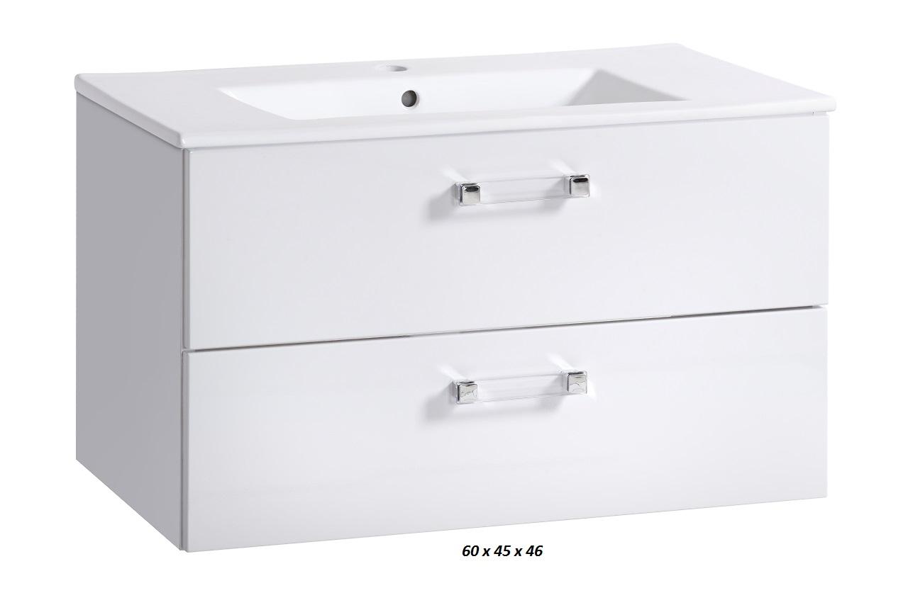 Meuble de salle de bains sanifun adel 60 ebay - Ebay meuble salle de bain ...