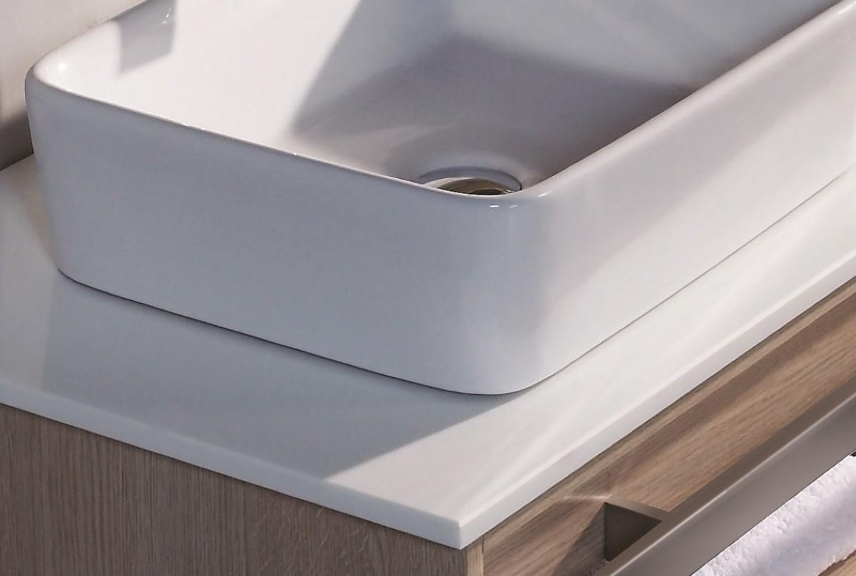 Meuble de salle de bains sanifun fiore 140 ebay for Vendeur de salle de bain