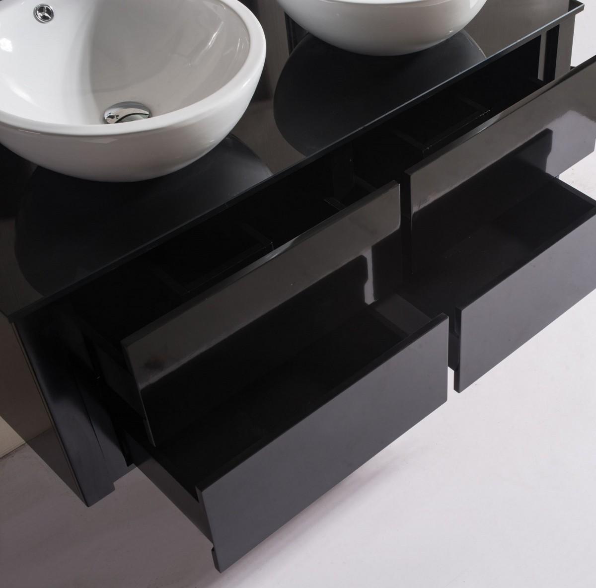 Meuble salle de bain sanifun gianero 120 combi ebay - Ebay meuble salle de bain ...