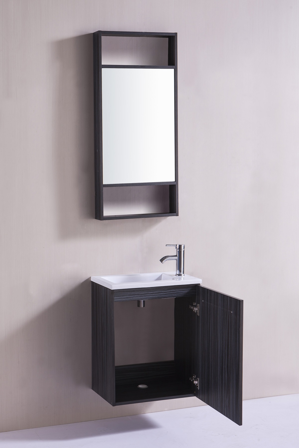 meuble lavabo toilette sanifun marco 50 ebay. Black Bedroom Furniture Sets. Home Design Ideas