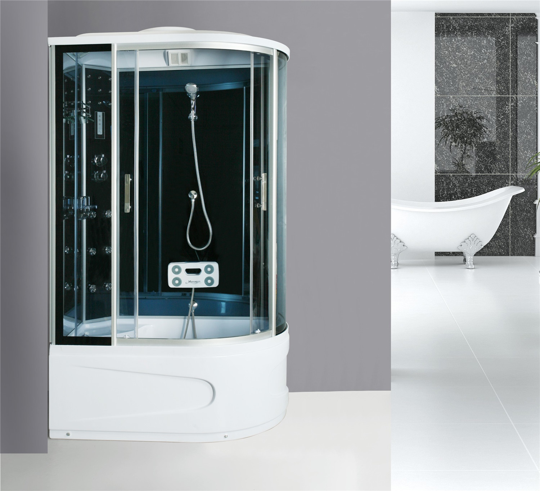 cabine de douche compl te sanifun hobard 130 x 85 ebay. Black Bedroom Furniture Sets. Home Design Ideas